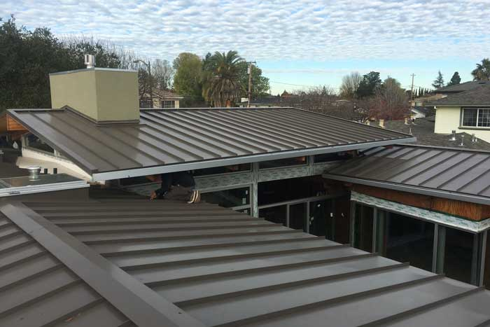 Metal Roofing Layers